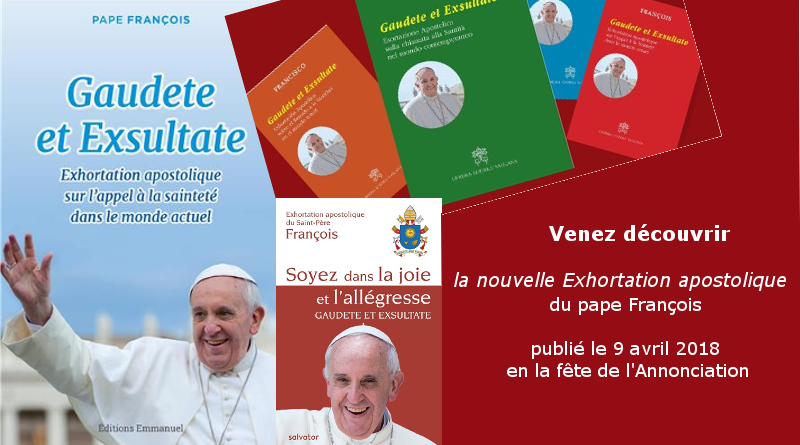 3e Exhortation apostolique du pape François