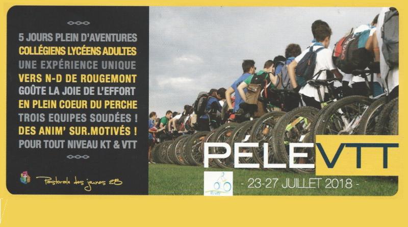 Vivre l'aventure à vélo, dans le Perche, avec Jésus