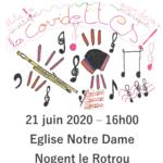 dimanche 21 juin – 16h – église Notre-Dame, Nogent le Rotrou
