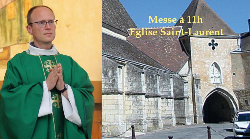 Installation du père Hugues de Tilly, dimanche 26 septembre